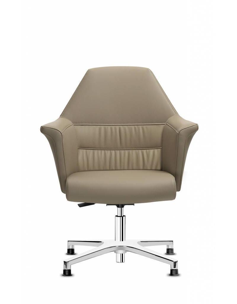Sitland Sitland Of Course bureaustoel, leer, low back