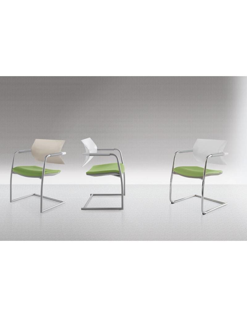 Luxy Luxy AIRE Jr. bezoekersstoel in leer