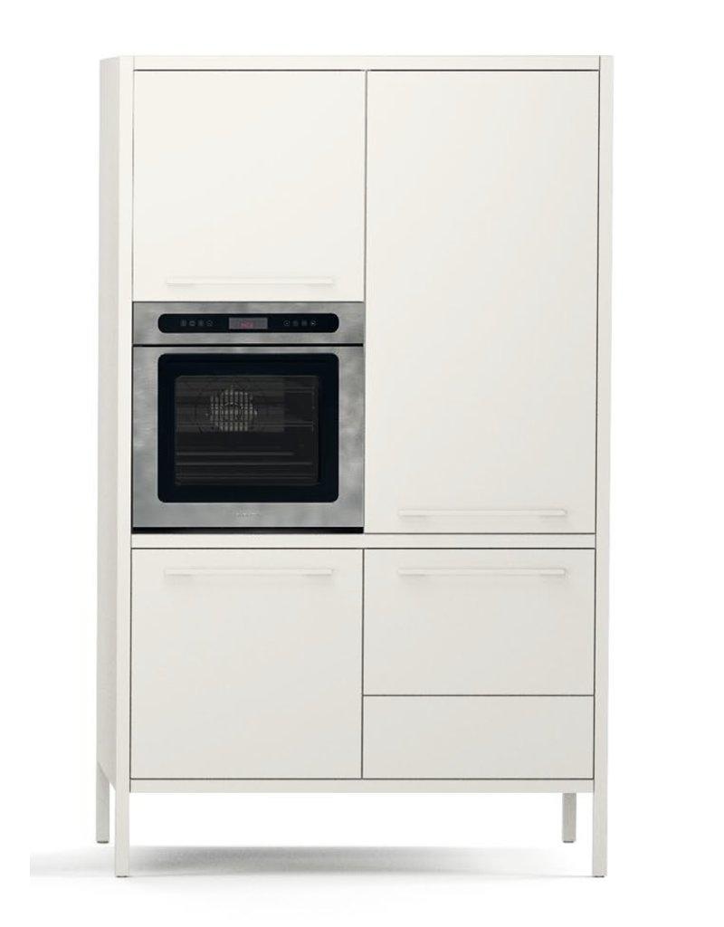 Fantin Fantin Frame metalen keukenkast met oven en vaatwasser