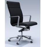 ICF ICF Una Executive leren bureaustoel
