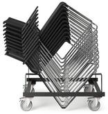ICF ICF Stick stapelbare vergaderstoel met netbespanning