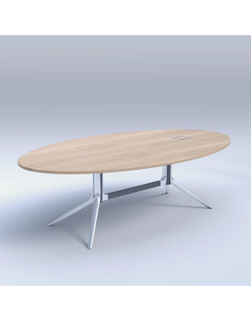 ICF ICF NoTable ovale vergadertafel 240 cm