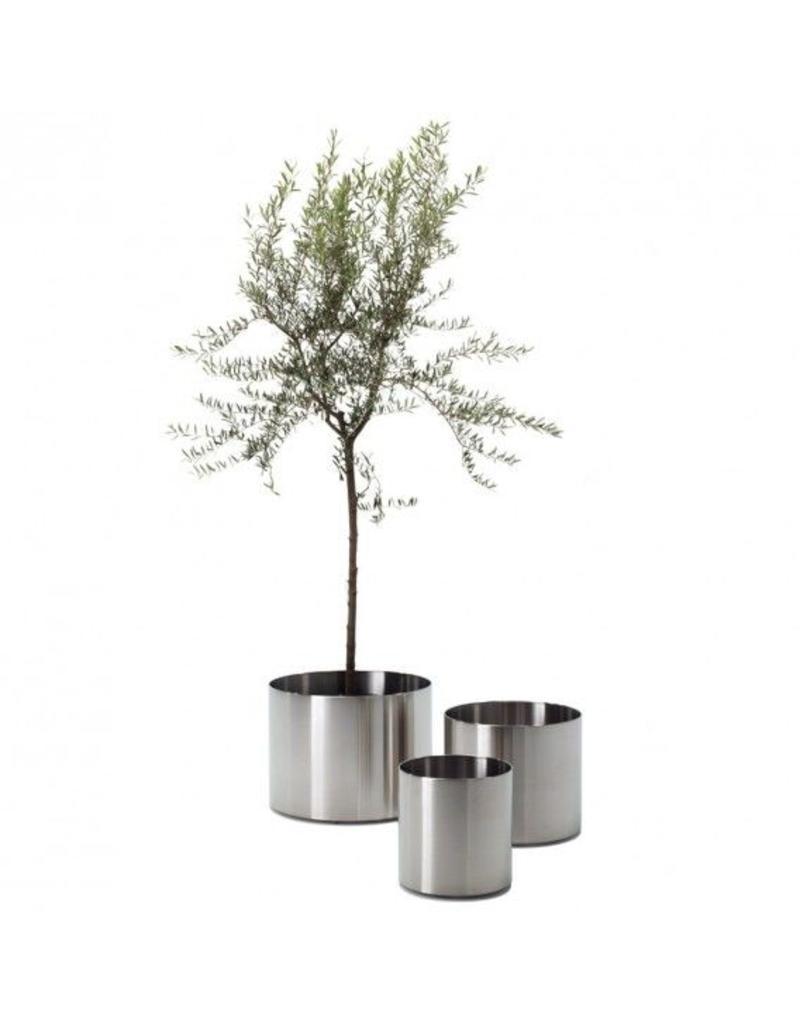 Rexite Rexite Nox Flora RVS verrijdbare plantenbak met wielen
