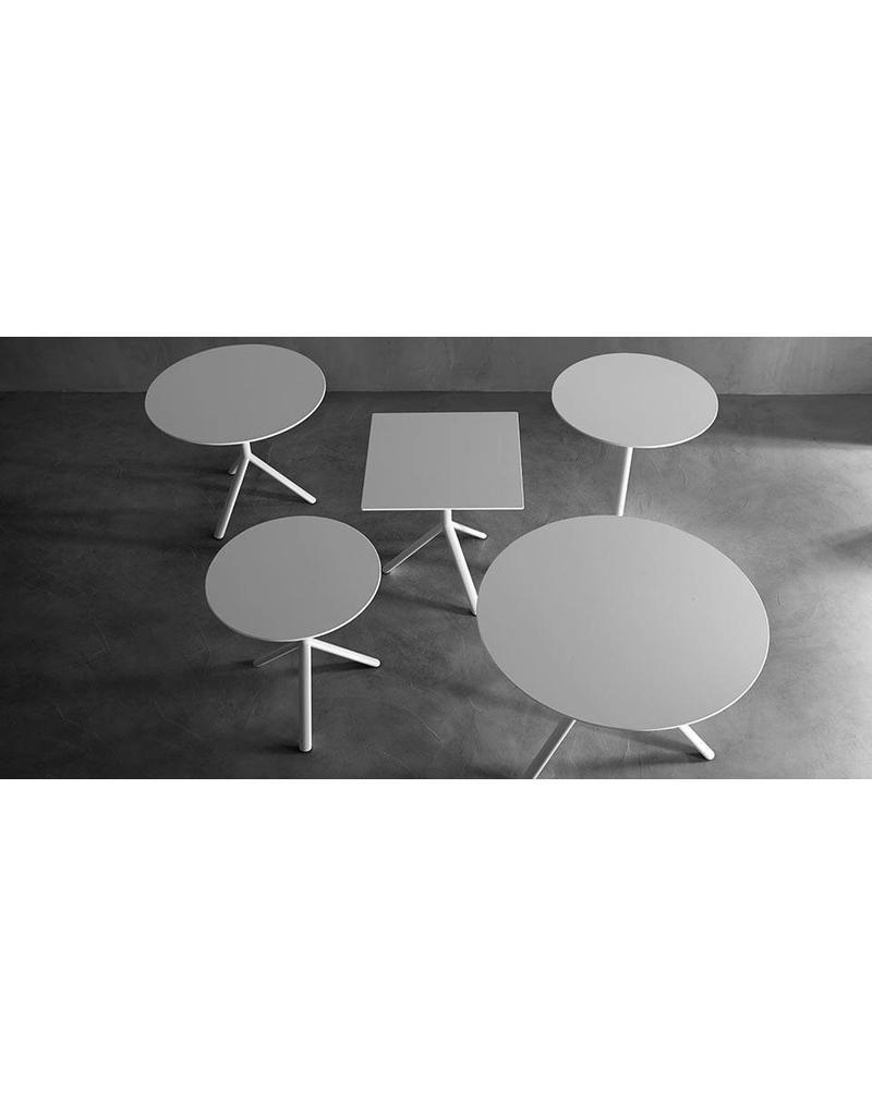 Plank Plank Miura ronde tafels / terrastafels (HPL blad Ø100 cm, Ø110 cm)