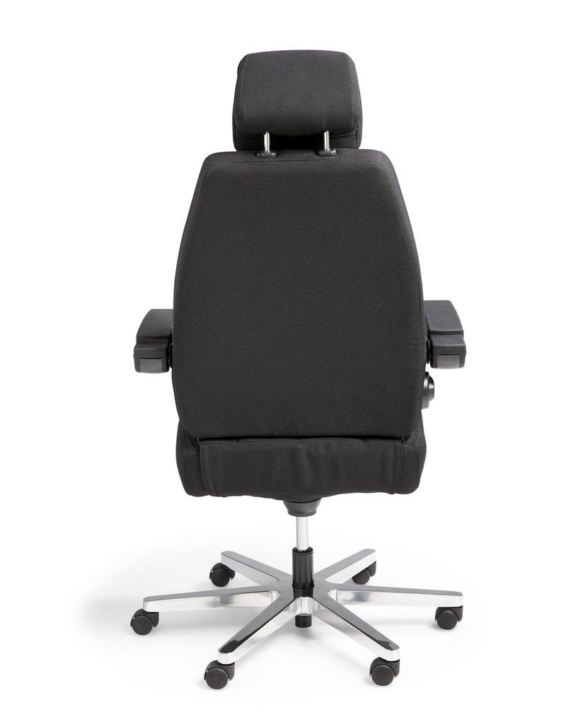 Custom 24h bureaustoel voor intensief gebruik