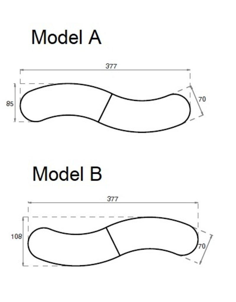 Lande Lande Buggy Snake modulaire statafel
