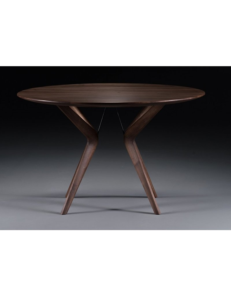 Artisan Artisan Lakri ronde houten tafel