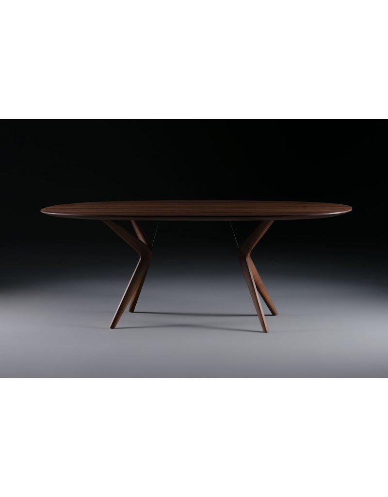 Artisan Artisan Lakri ovale houten tafel