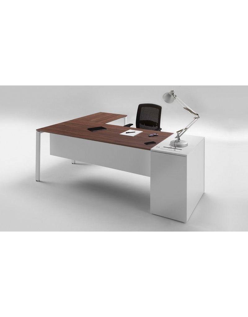 Ultom Ultom 6x3 bureau met vast ladeblok