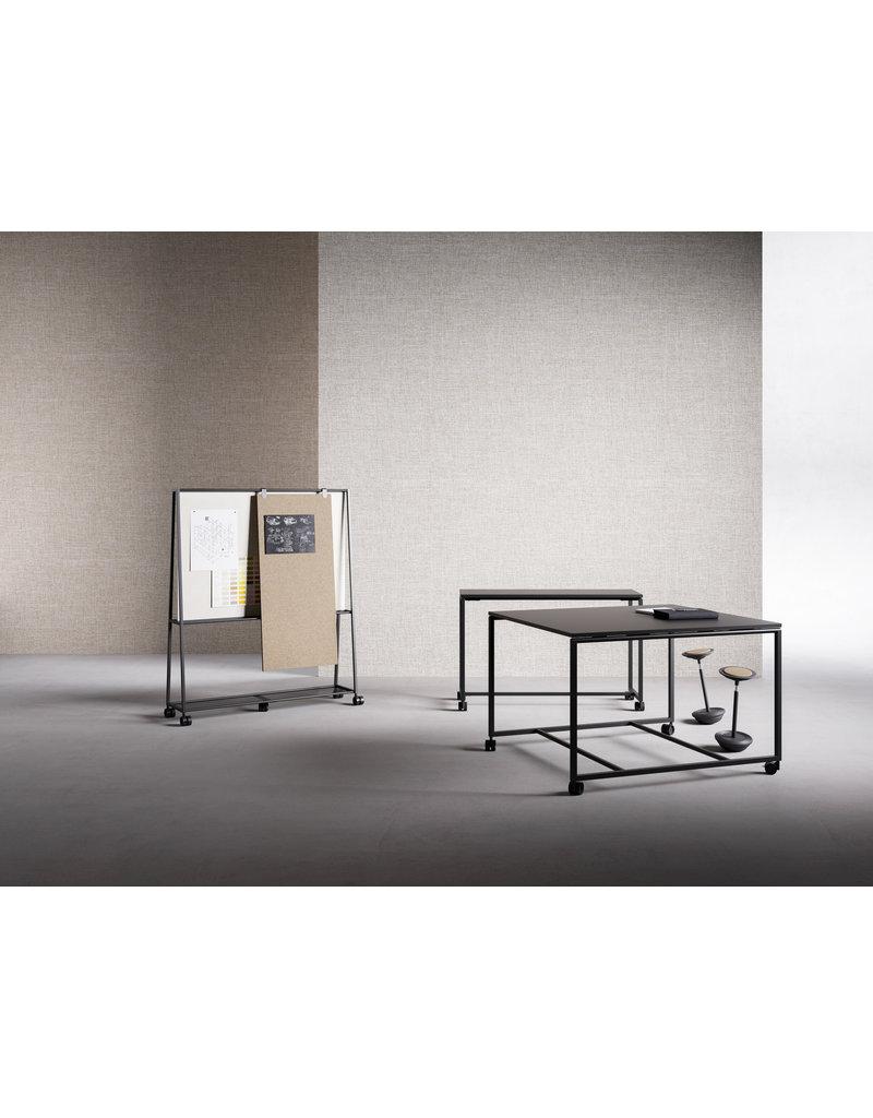 Fantoni Fantoni Atelier brede hoge vergadertafel