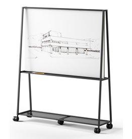 Fantoni Fantoni Atelier mobiel whiteboard