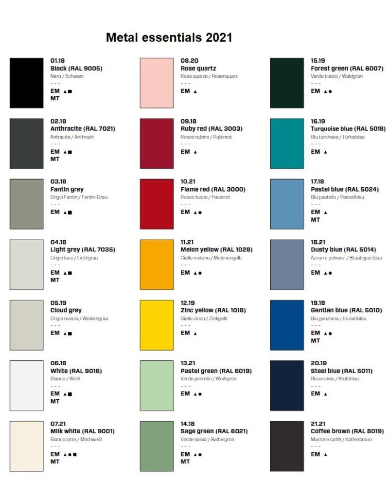 Fantin Fantin Ali metalen ladeblok in veel kleuren