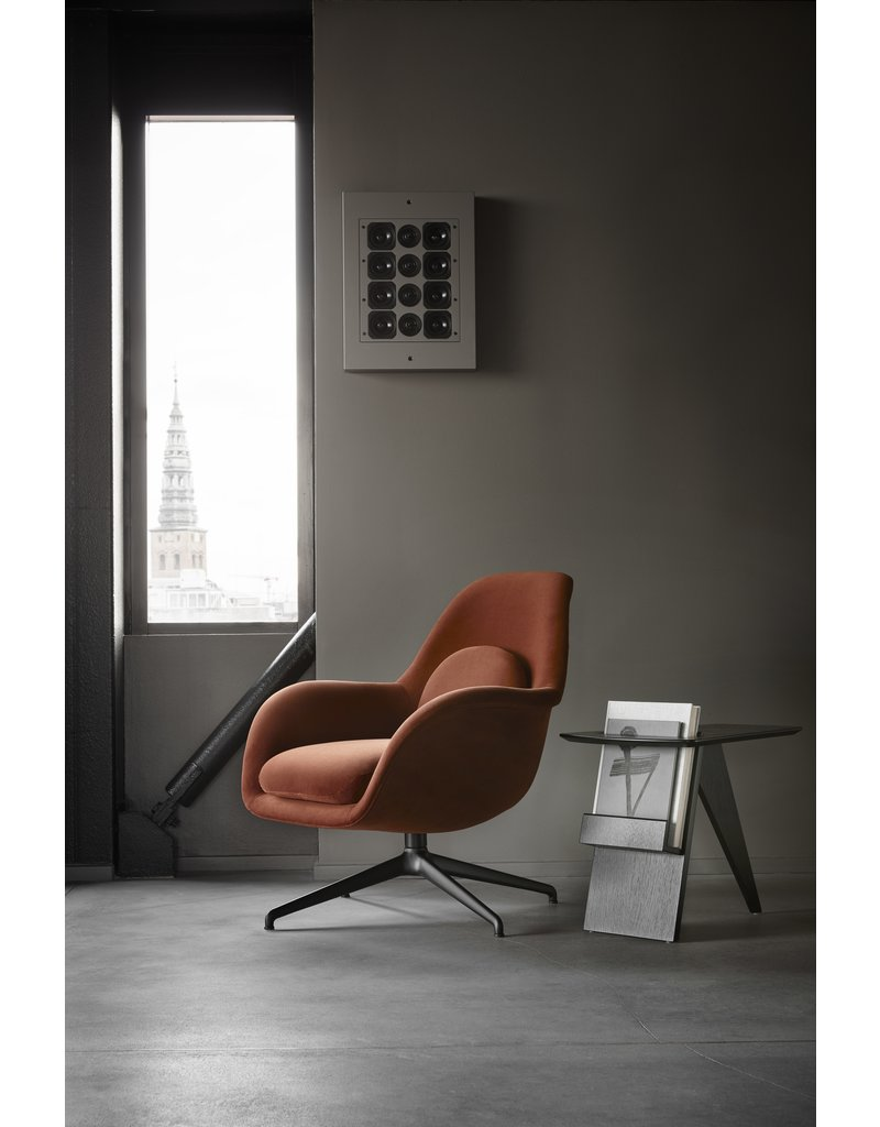 Fredericia Fredericia Swoon Lounge Petit fauteuil Swivel Base