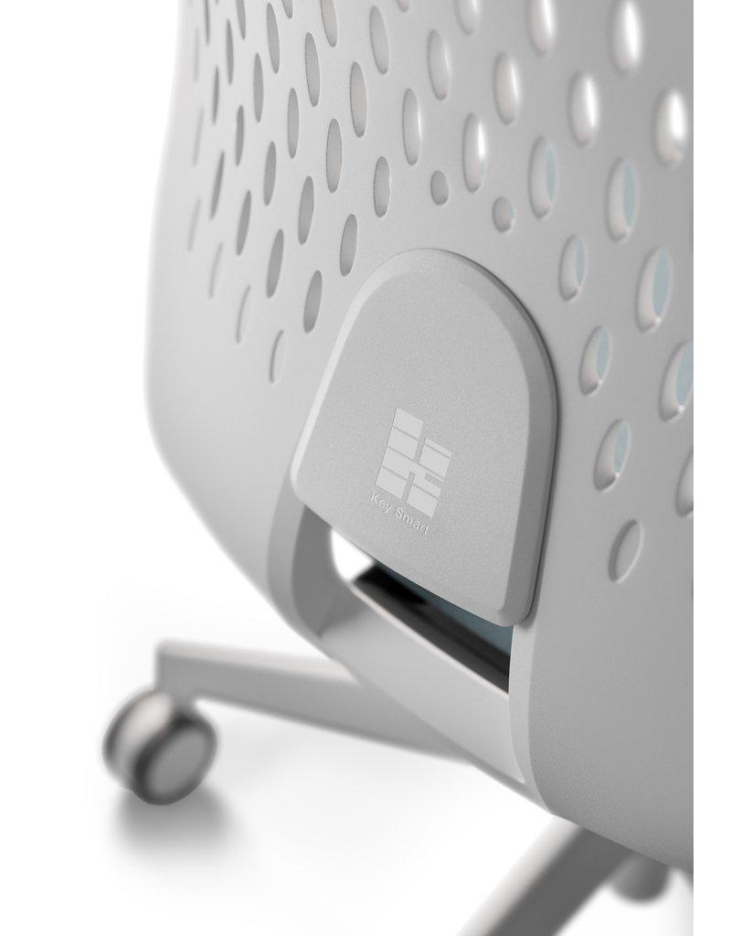 Kastel Kastel Key Smart bureaustoel met kunststof rug