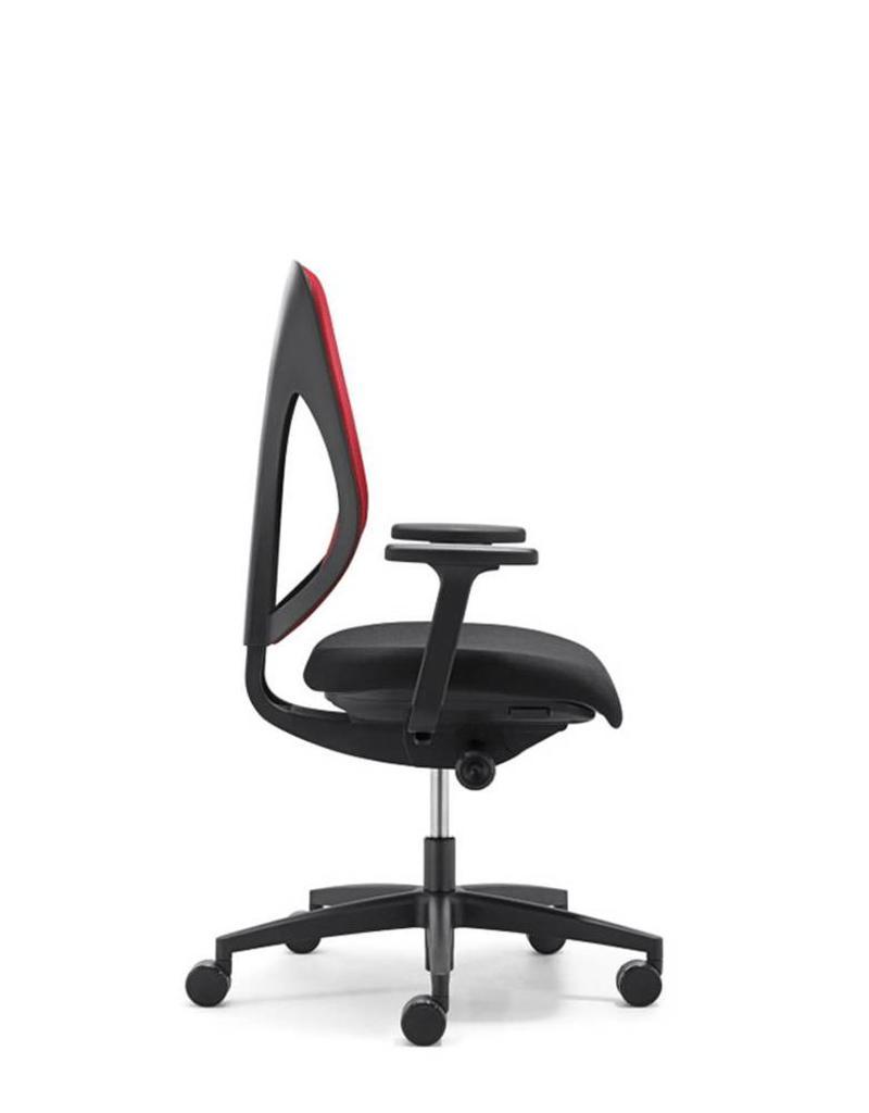 Giroflex Giroflex 353 ergonomische bureaustoel met 4D armleuningen