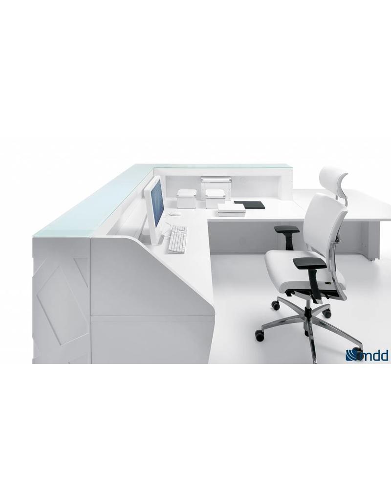 MDD MDD Zig-Zag modulair receptiebalie systeem