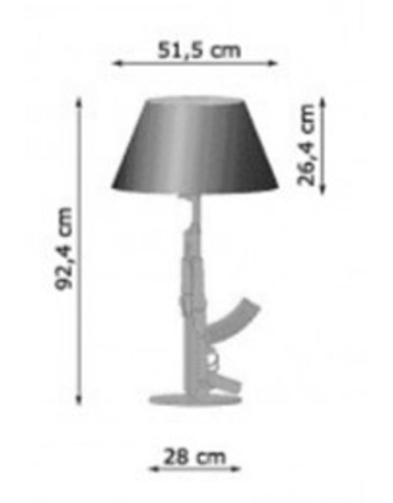 Flos Flos Guns Table Gun tafellamp / schemerlamp