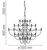 Flos Flos 2097/30 en 2097/50 hanglampen