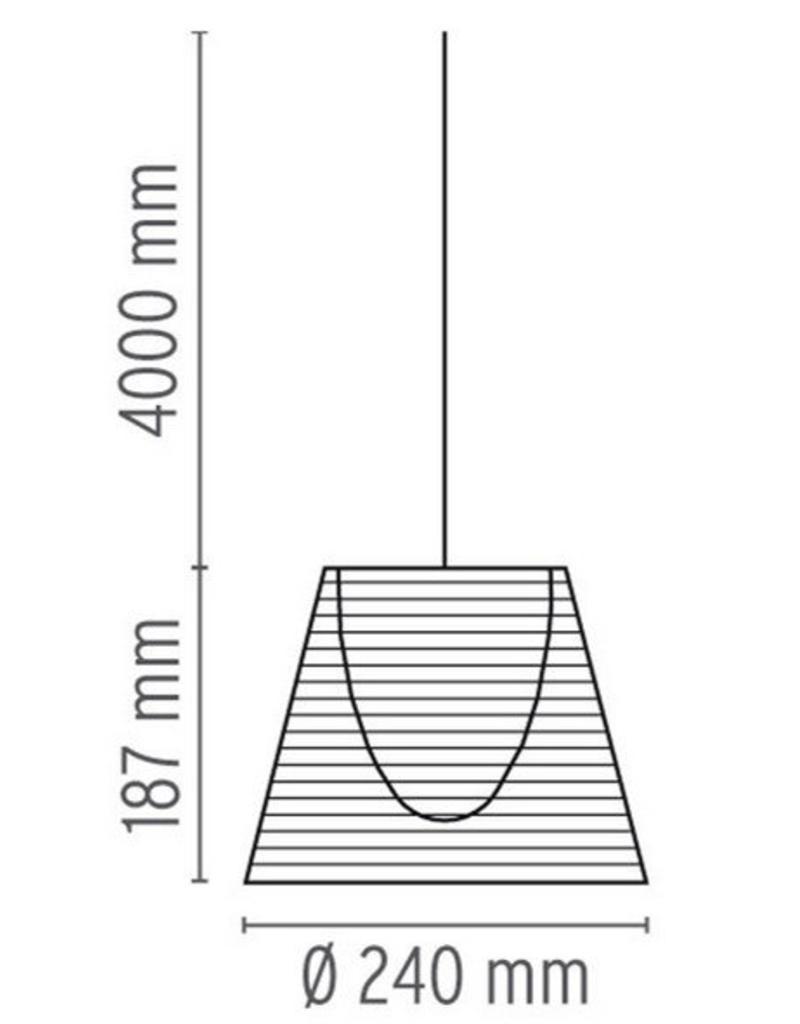 Flos Flos Ktribe S1 hanglamp Ø24cm