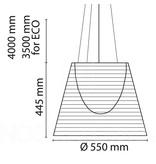 Flos Flos Ktribe S3 hanglamp Ø55 cm