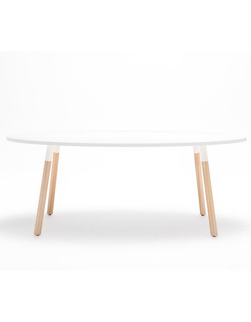 MDD MDD OGI-W ovale vergadertafel 200 cm