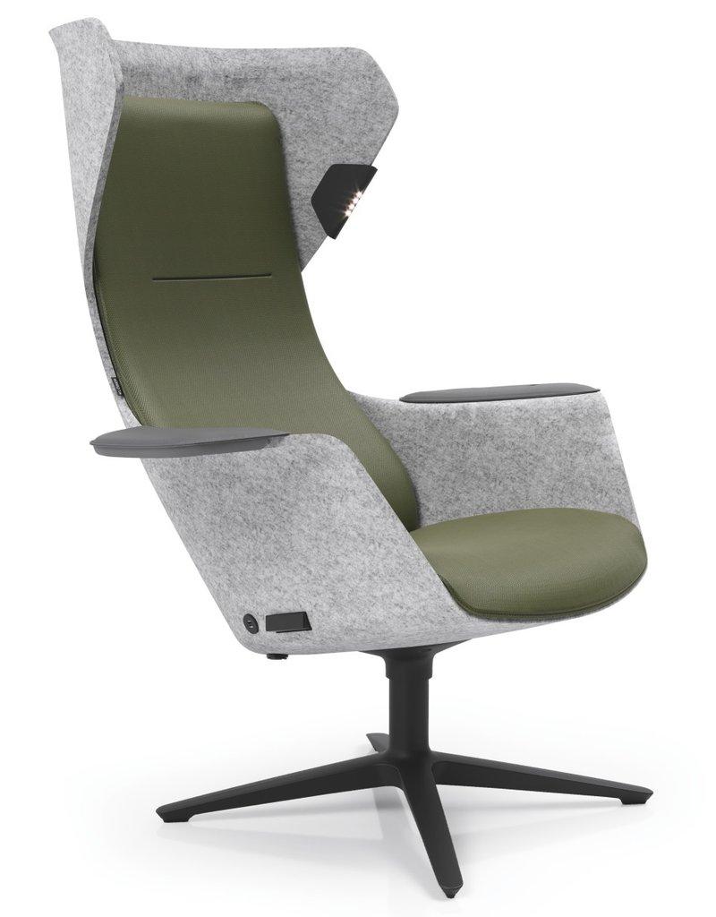 Klöber Klober Wooom akoestische stoel
