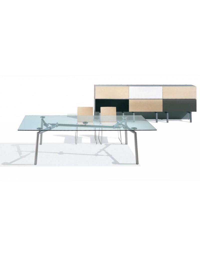 Rechthoekige Glazen Tafel.Ultom Isotta Vergadertafel Design Online Meubels