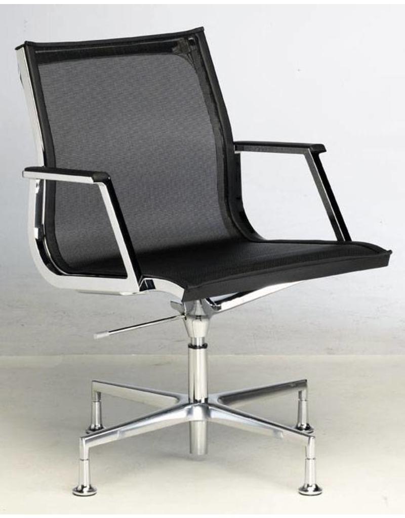 Luxy Luxy Nulite conferentiestoel, netbespanning, glijders