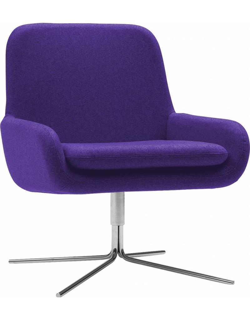 Softline Softline Coco draaibare fauteuil / lounge fauteuil