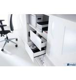 MDD MDD Standard schuifdeurkast met glossy HPL deur