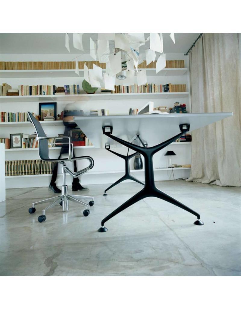 Alias Alias Frametable bureau/tafel met glazen blad