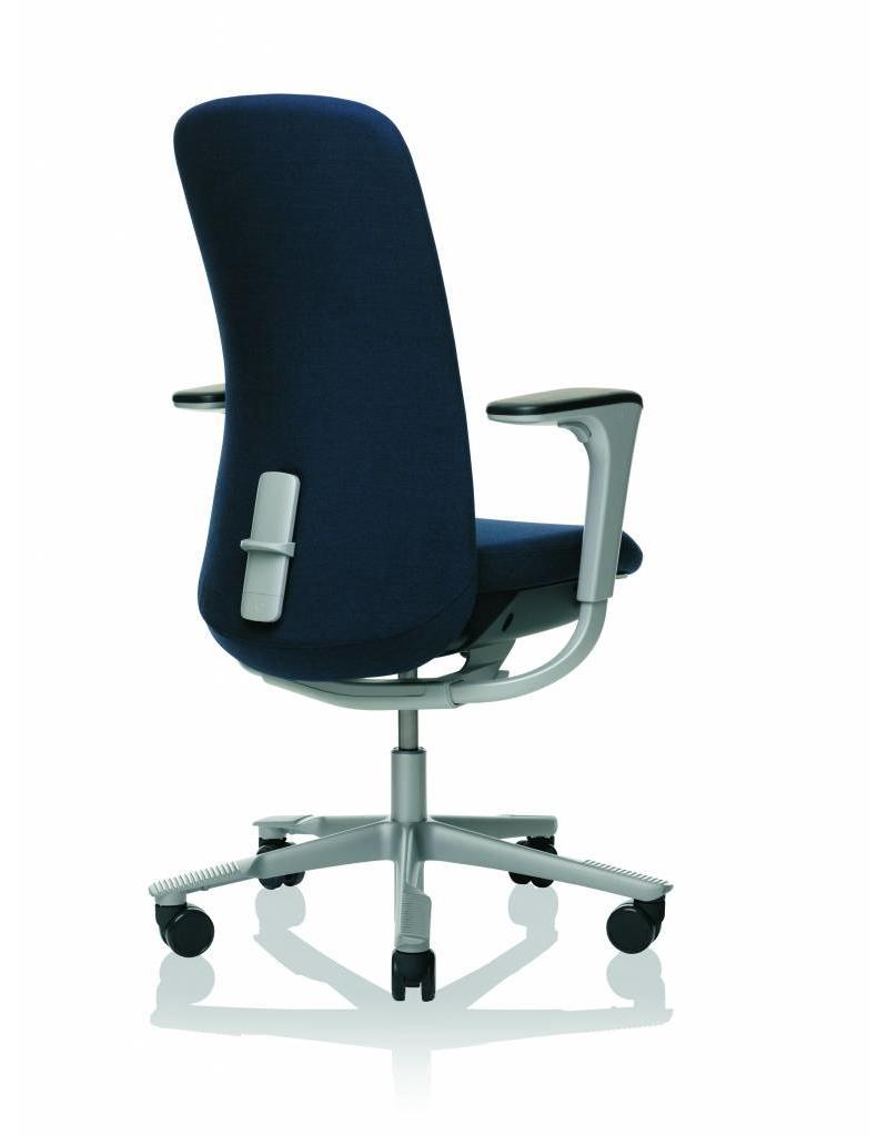 HÅG HAG Sofi bureaustoel incl. armleuningen, stoffen bekleding