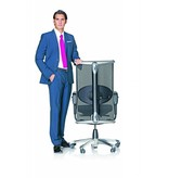 HÅG HÅG Inspiration bureaustoel met medium hoge net-rugleuning