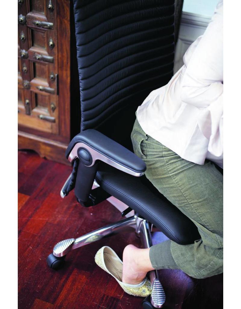 HÅG HAG Excellence 9331 leren bureaustoel met hoge rugleuning