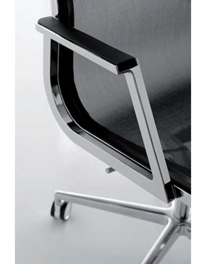 Luxy Luxy Nulite bureaustoel, netbespanning, chroom