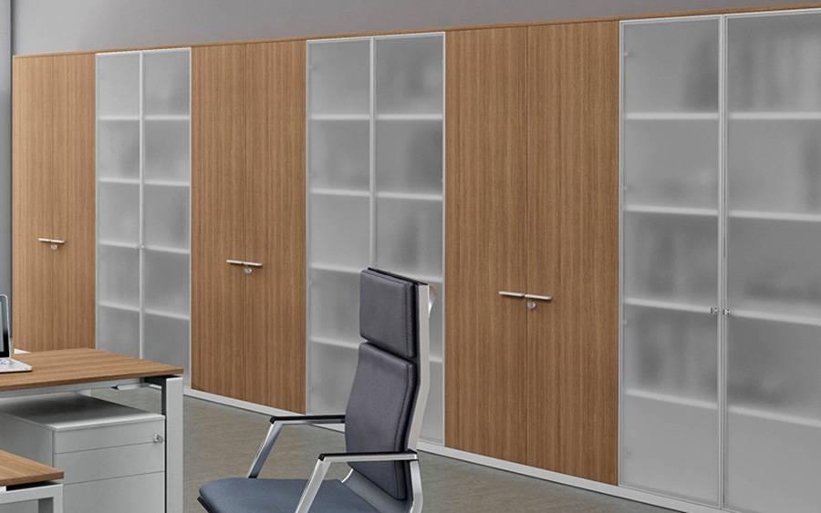 Kast Met Glazen Deuren.Bralco A100 Hoge Kast Design Online Meubels