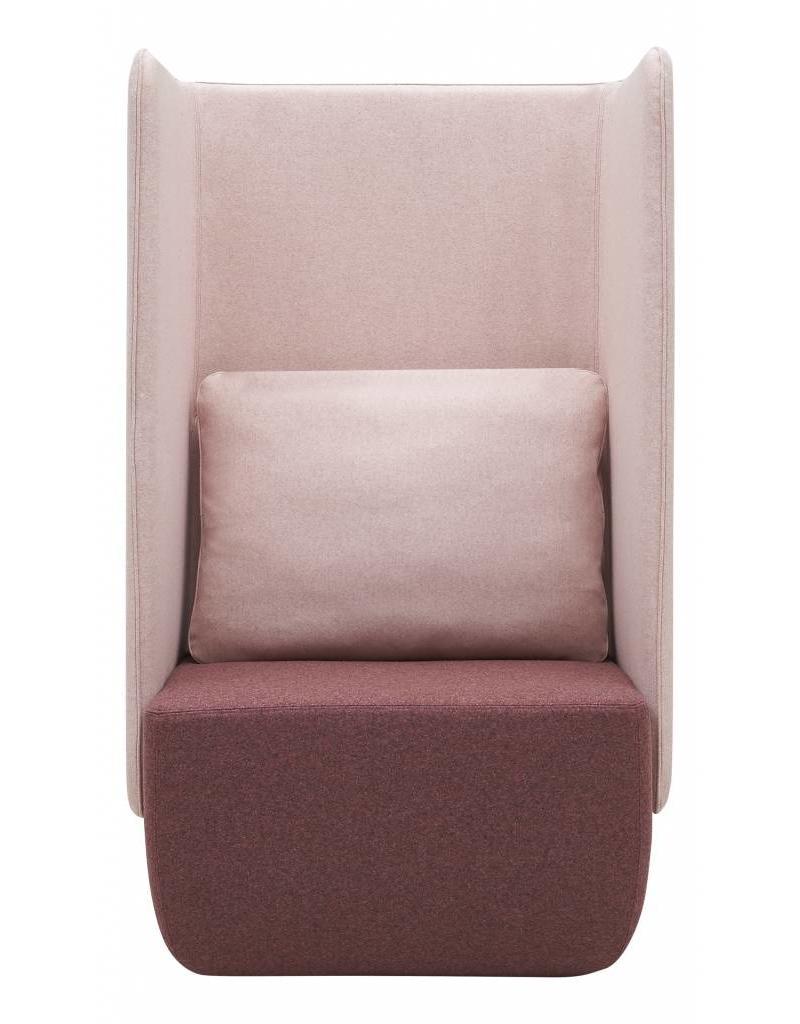 Softline Softline Opera akoestische fauteuil, hoge rug