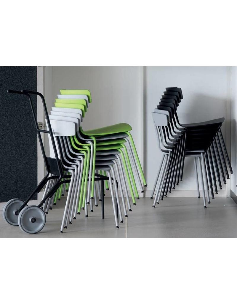 Plank Plank Remo stoel stapelbaar (metalen poten)