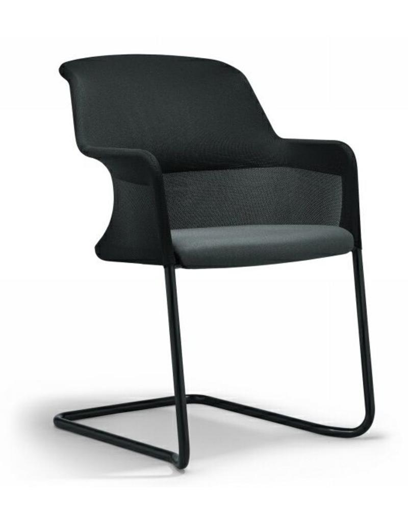 Giroflex Giroflex 434 bezoekersstoel, sledeonderstel