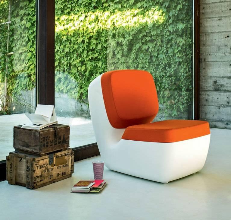 Oranje Design Fauteuil.Magis Nimrod Stoel