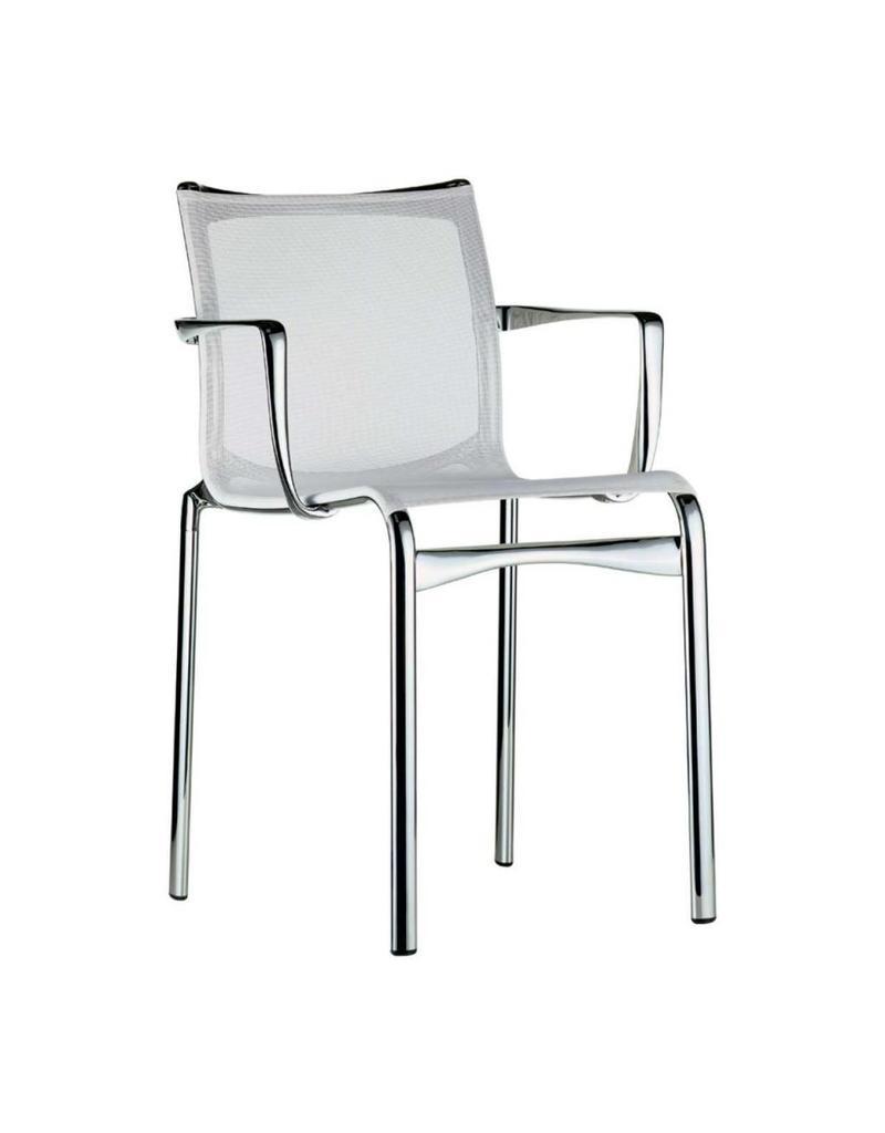 Alias Alias 441 bigframe stoel gepolijst aluminium met armleggers