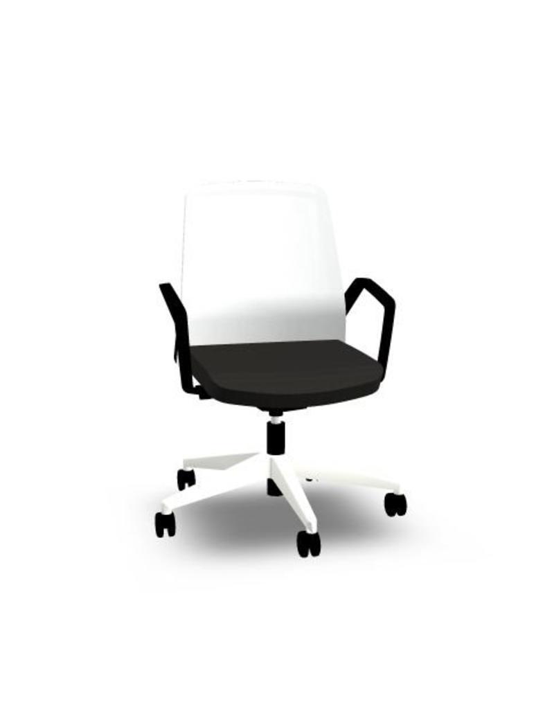 Interstuhl Interstuhl BUDDYis3 bureau stoel / conferentiestoel met armleuningen