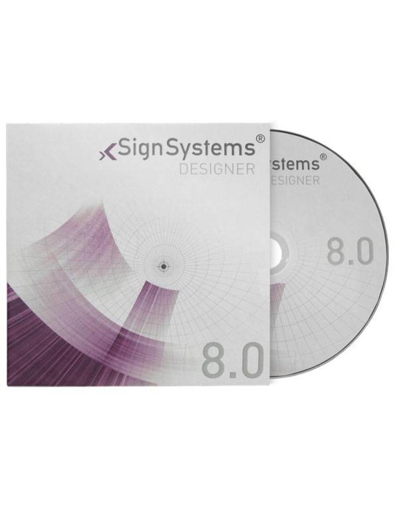 SignSystems SignSystems Clear glazen deurbordje