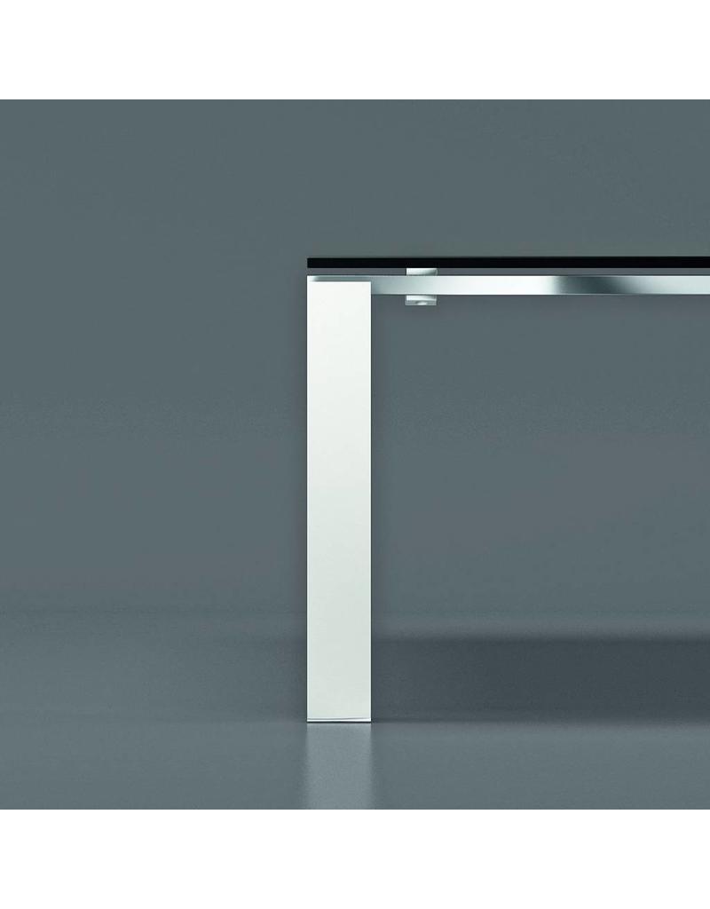 Bralco Bralco Jet Evo glazen vergadertafel van 240 cm x 124 cm