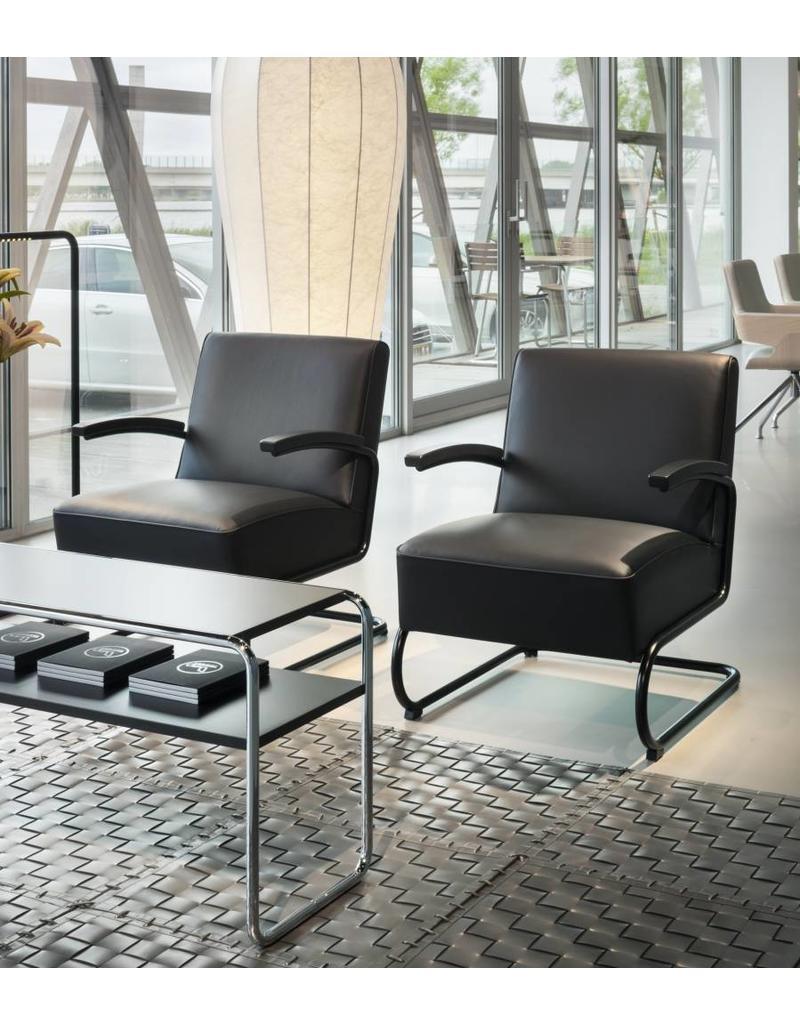 Thonet Thonet S 411 fauteuil (leer)