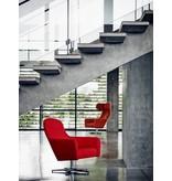 Softline Softline Havana lage lounge fauteuil met draaivoet