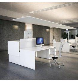 Fantoni Fantoni Quaranta5 2 persoons dubbel bureau verstelbaar
