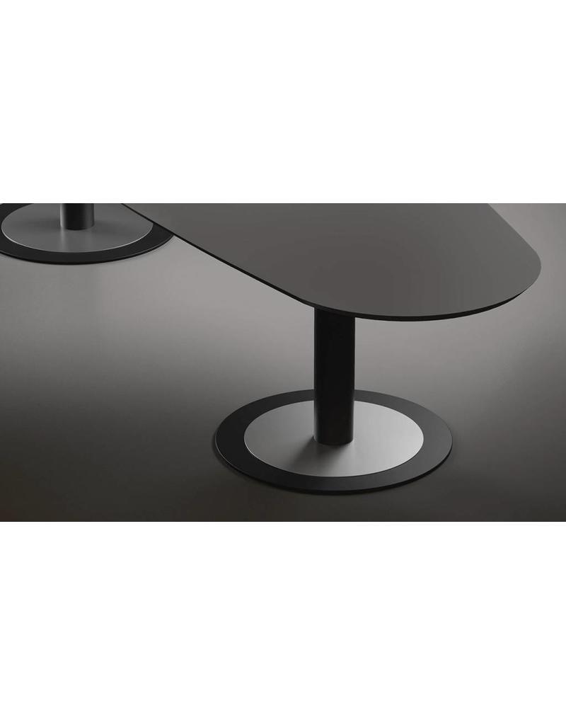 Fantoni Fantoni ovale modulaire vergadertafel