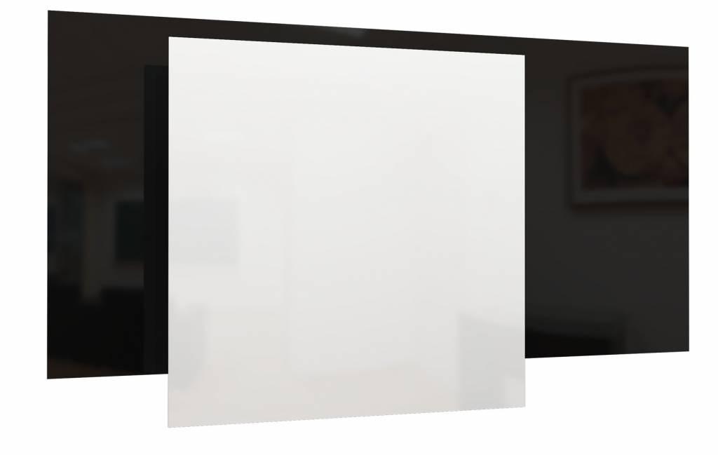 Infrarood Paneel Spiegel : Ecosun infrarood paneel wit en zwart glas duurzame en