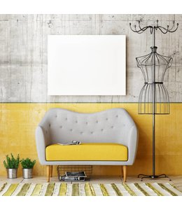 VH Serie F - Glad design - Infrarood Verwarmingspaneel Wit -